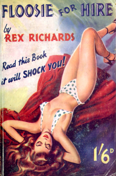 """RICHARDS, Rex"" : [COVER TITLE] FLOOSIE FOR HIRE."