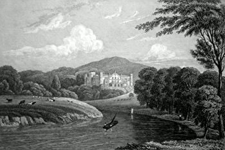 Apley Park Shropshire Antique Print 1829