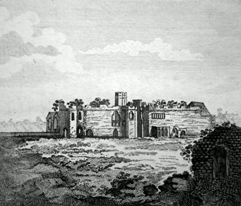 ANTIQUE PRINT: LITTLE BILLING PRIORY.