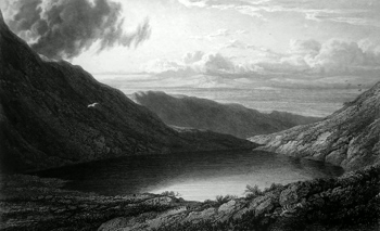 ANTIQUE PRINT: [THRELKELD : SCALES TARN].