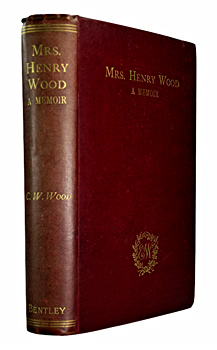 WOOD, Charles W. (Charles William), 1841-1919 : MEMORIALS OF MRS. HENRY WOOD.