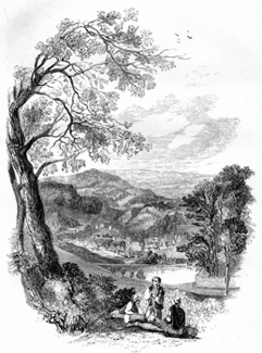 ANTIQUE PRINT: 1. – SHEFFIELD, FROM CROOKES.