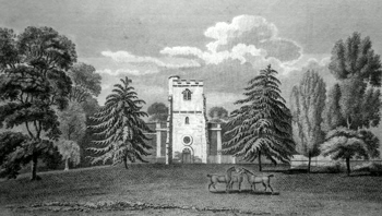 ANTIQUE PRINT: LITTLE STANMORE.