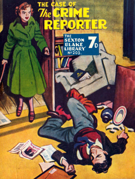 HARDINGE, Rex (Charles Reginald), 1902-1990 : THE CASE OF THE CRIME REPORTER.