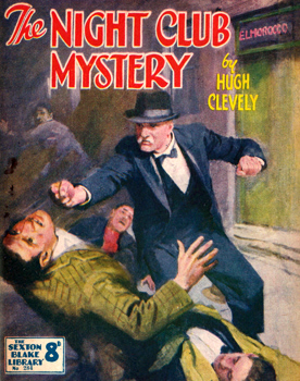 CLEVELY, Hugh (Hugh Desmond) 1897-1964 : THE NIGHT CLUB MYSTERY.