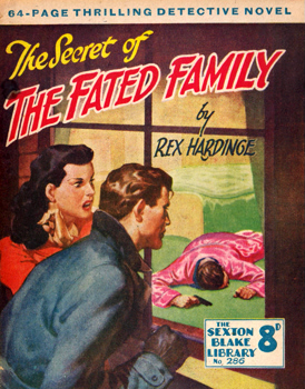 HARDINGE, Rex (Charles Reginald), 1902-1990 : THE SECRET OF THE FATED FAMILY.