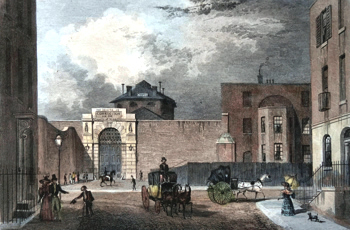 ANTIQUE PRINT: HOUSE OF CORRECTION, COLDBATH FIELDS.