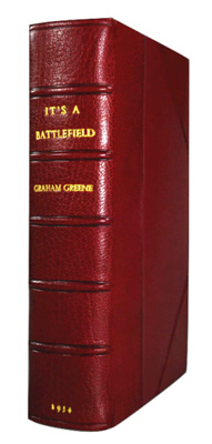 GREENE, Graham (Henry Graham), 1904-1991 : IT'S A BATTLEFIELD.