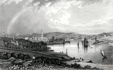 Antique print of Waterford