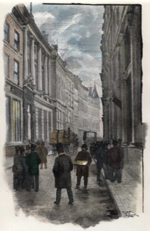 ANTIQUE PRINT: MINCING LANE.