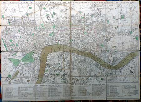 Antique Maps Of London At Ash Rare Books