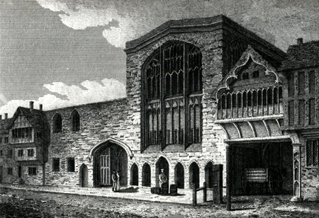 Antique print of Coventry
