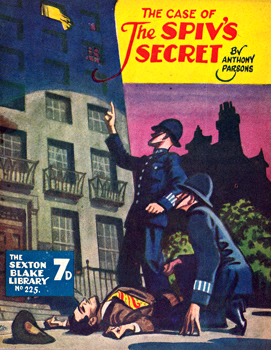 PARSONS, Anthony, 1893-1963 : THE CASE OF THE SPIV'S SECRET.
