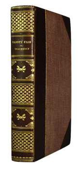 THACKERAY, W.M. (William Makepeace), 1811-1863 : VANITY FAIR : A NOVEL WITHOUT A HERO.