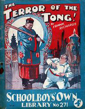 """RICHARDS, Frank� – [HAMILTON, Charles Harold St. John, 1876-1961] : [COVER TITLE] THE TERROR OF THE TONG!"