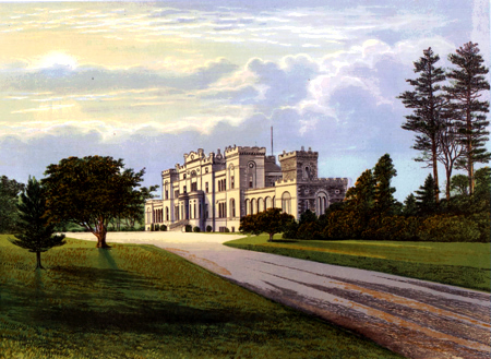 ANTIQUE PRINT: ROSSIE CASTLE.