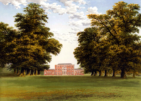 ANTIQUE PRINT: ALDBY PARK.