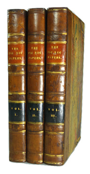 DICKENS, Charles (Charles John Huffam), 1812-1870 – editor : THE PIC NIC PAPERS. BY VARIOUS HANDS.