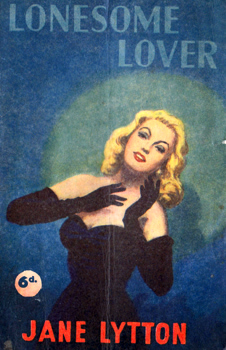 LYTTON, Jane : [COVER TITLE] LONESOME LOVER.