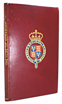 "[""GAWSWORTH, John"" – ARMSTRONG, Terence Ian Fytton, – editor] : THE MUSE OF MONARCHY : POEMS BY KINGS AND QUEENS OF ENGLAND."