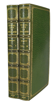HOWITT, William, 1792-1879 : THE RURAL LIFE OF ENGLAND.