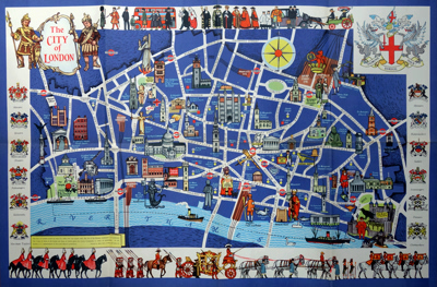 Map Of City Of London.Antique Maps Of London At Ash Rare Books