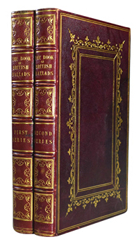 HALL, S. C. (Samuel Carter), 1800-1889 – editor : THE BOOK OF BRITISH BALLADS.