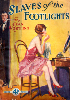 WORTHING, Alan :  SLAVES OF THE FOOTLIGHTS [COVER TITLE].