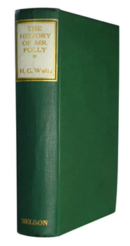 WELLS, H.G. (Herbert George), 1866-1946 : THE HISTORY OF MR. POLLY.