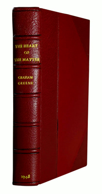 GREENE, Graham (Henry Graham), 1904-1991 : THE HEART OF THE MATTER.